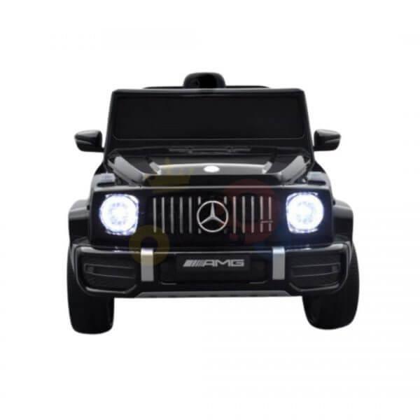 MERCEDES G63 KIDS TODDLERS RIDE ON CAR 12V RUBBER WHEEL LETHAR SEAT KIDSVIP BLACK PAINT 7