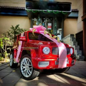 MERCEDES G63 KIDS TODDLERS RIDE ON CAR 12V RUBBER WHEEL LETHAR SEAT KIDSVIP RED PAINT 14