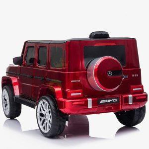 MERCEDES G63 KIDS TODDLERS RIDE ON CAR 12V RUBBER WHEEL LETHAR SEAT KIDSVIP RED PAINT 6