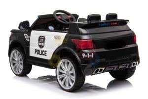 POLICE RIDE ON CAR FOR KIDS AND TODDLERS 12V RUBBER WHEELS KIDSVIP 18