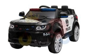 POLICE RIDE ON CAR FOR KIDS AND TODDLERS 12V RUBBER WHEELS KIDSVIP 25