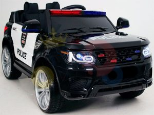 POLICE RIDE ON CAR FOR KIDS AND TODDLERS 12V RUBBER WHEELS KIDSVIP 26