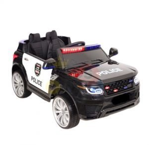 POLICE RIDE ON CAR FOR KIDS AND TODDLERS 12V RUBBER WHEELS KIDSVIP 27