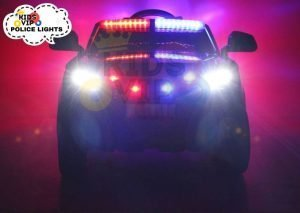 POLICE RIDE ON CAR FOR KIDS AND TODDLERS 12V RUBBER WHEELS KIDSVIP 28
