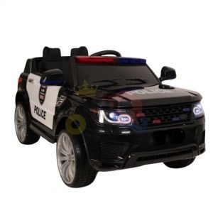 POLICE RIDE ON CAR FOR KIDS AND TODDLERS 12V RUBBER WHEELS KIDSVIP 32