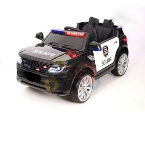 POLICE RIDE ON CAR FOR KIDS AND TODDLERS 12V RUBBER WHEELS KIDSVIP 33