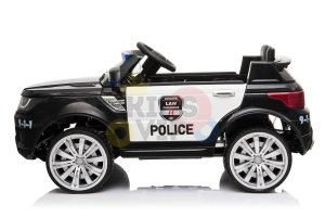 POLICE RIDE ON CAR FOR KIDS AND TODDLERS 12V RUBBER WHEELS KIDSVIP 34
