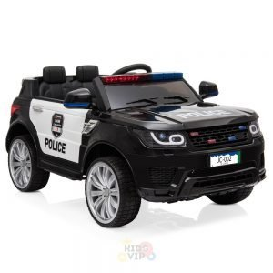 POLICE RIDE ON CAR FOR KIDS AND TODDLERS 12V RUBBER WHEELS KIDSVIP 5