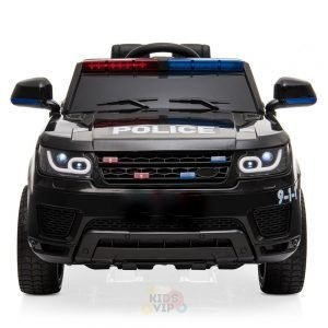 POLICE RIDE ON CAR FOR KIDS AND TODDLERS 12V RUBBER WHEELS KIDSVIP 6