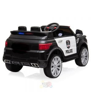 POLICE RIDE ON CAR FOR KIDS AND TODDLERS 12V RUBBER WHEELS KIDSVIP 8