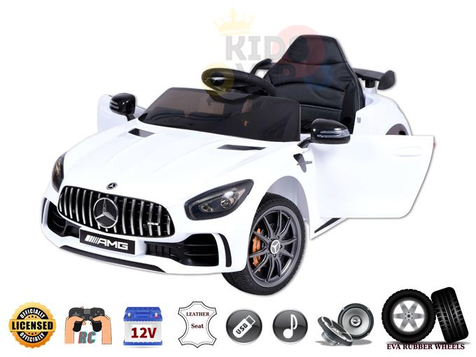 Officially Licensed Mercedes Benz GT 12V Kids and Toddlers Ride On Car