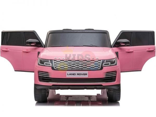 RANGE ROVER 2 SEAT RIDE ON CAR hse 2x12v rubber kids and toddlers pink 10