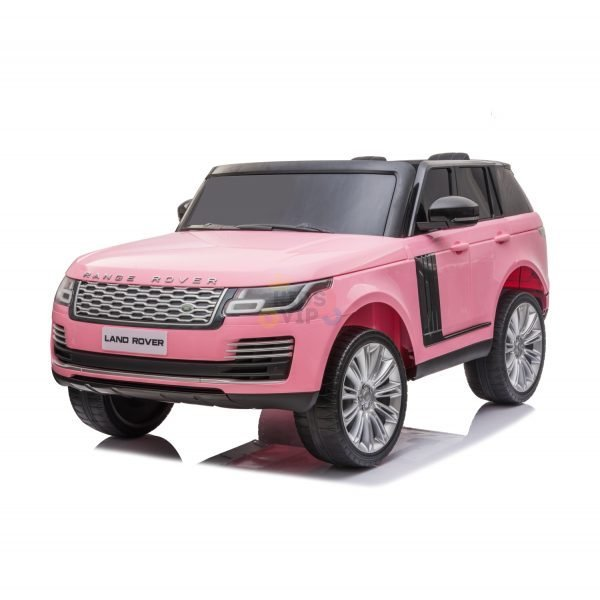 RANGE ROVER 2 SEAT RIDE ON CAR hse 2x12v rubber kids and toddlers pink 14