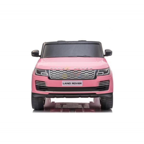 RANGE ROVER 2 SEAT RIDE ON CAR hse 2x12v rubber kids and toddlers pink 15