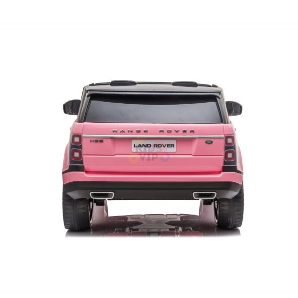 RANGE ROVER 2 SEAT RIDE ON CAR hse 2x12v rubber kids and toddlers pink 5
