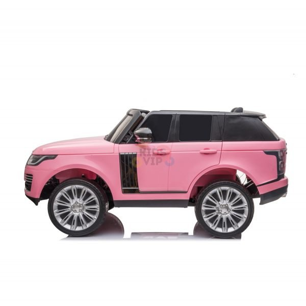 RANGE ROVER 2 SEAT RIDE ON CAR hse 2x12v rubber kids and toddlers pink 6