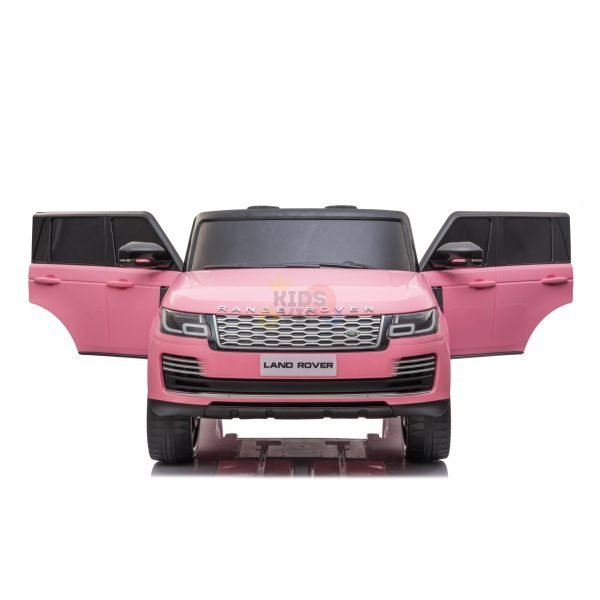 RANGE ROVER 2 SEAT RIDE ON CAR hse 2x12v rubber kids and toddlers pink 7