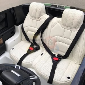 kidsvip range rover white 2x12v kids toddlers ride on car suv hse 2 seats 4wd 4x4 10