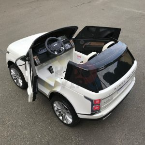 kidsvip range rover white 2x12v kids toddlers ride on car suv hse 2 seats 4wd 4x4 12