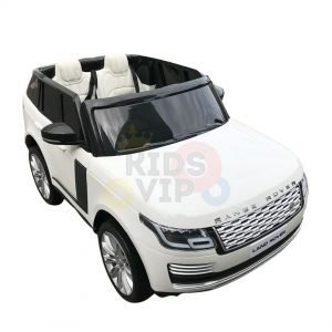 kidsvip range rover white 2x12v kids toddlers ride on car suv hse 2 seats 4wd 4x4 3