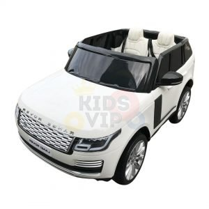 kidsvip range rover white 2x12v kids toddlers ride on car suv hse 2 seats 4wd 4x4 4