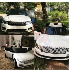 kidsvip range rover white 2x12v kids toddlers ride on car suv hse 2 seats 4wd 4x4 5
