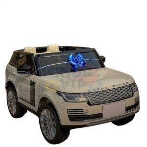 kidsvip range rover white 2x12v kids toddlers ride on car suv hse 2 seats 4wd 4x4 6