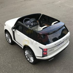 kidsvip range rover white 2x12v kids toddlers ride on car suv hse 2 seats 4wd 4x4 8