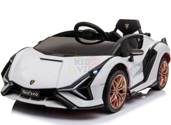 lamborghin 4wd 4x4 kids and toddlers ride on sport sian car 12v leather ruber kidsvip 15