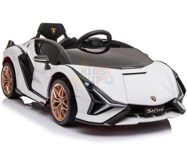 lamborghin 4wd 4x4 kids and toddlers ride on sport sian car 12v leather ruber kidsvip 22