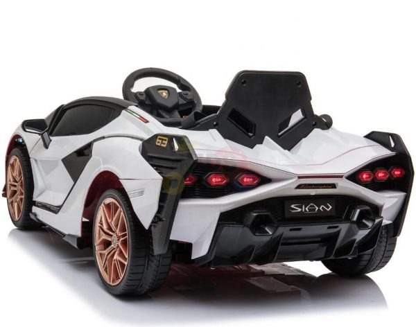 lamborghin 4wd 4x4 kids and toddlers ride on sport sian car 12v leather ruber kidsvip 28