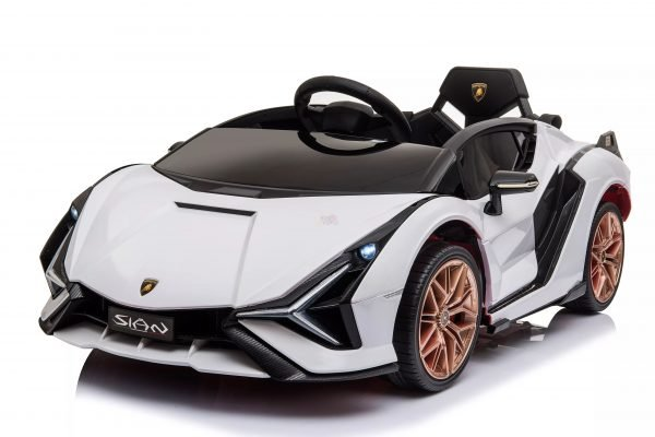 lamborghin 4wd 4x4 kids and toddlers ride on sport sian car 12v leather ruber kidsvip 8 scaled