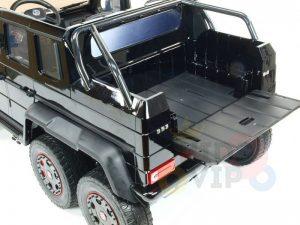mercedes benz 6x6 kids ride on car truck 2 seats kids toddlers 12v rubber wheel kidsvip 30