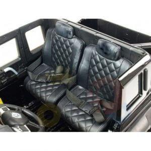 mercedes benz 6x6 kids ride on car truck 2 seats kids toddlers 12v rubber wheel kidsvip 6 1