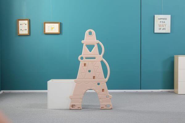 kids toddlers swing slide playset crown kidsvip pink 12 scaled