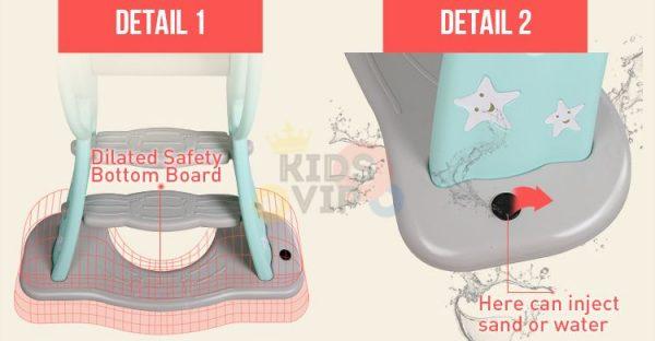 kidsvip kids toddlers slide indoor outdoor new 9