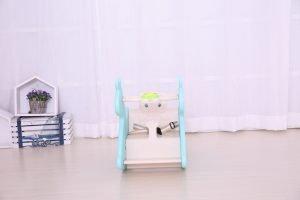 kidsvip rocking deer zeebra chair toddlers infants blue 3
