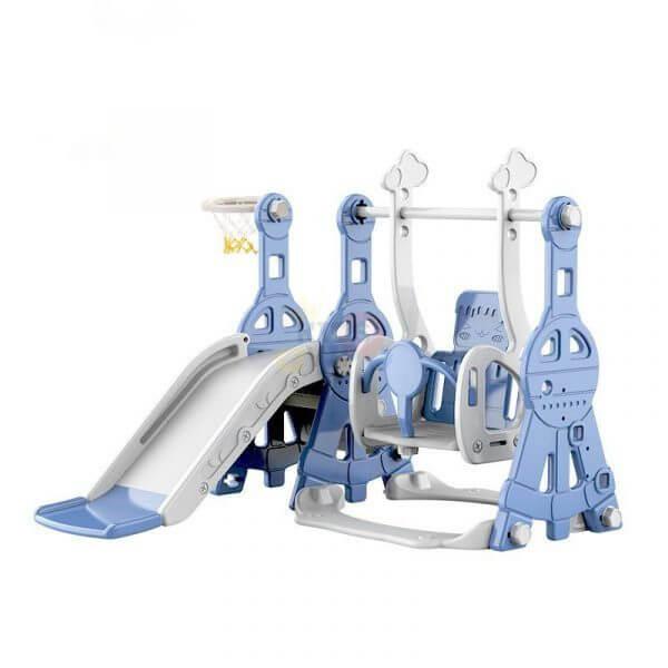 kidsvip tower swing slide basketball kids toddlers infants blue 11