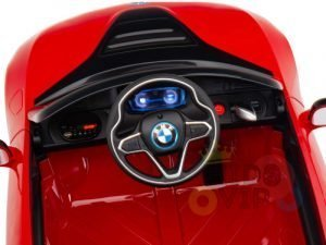 bmw i8 coupe kids and toddlers ride on car 12v remote kidsvip RED 1