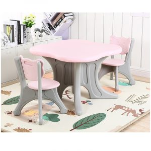 kidsvip bear edition table and chairs 2
