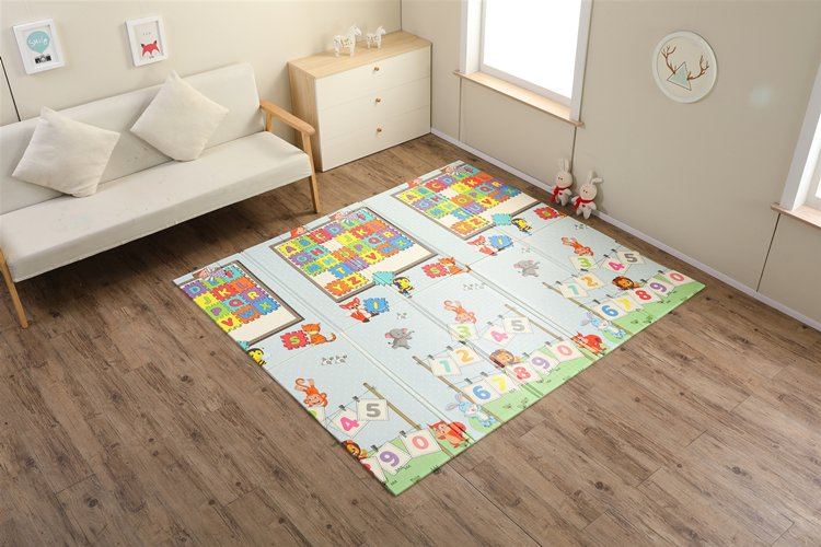 kidsvip foldable 2 sides kids toddlers mat craweler pazel 1