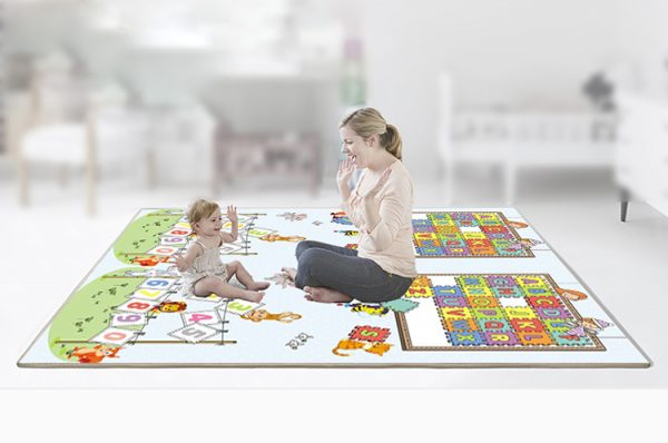 kidsvip foldable 2 sides kids toddlers mat craweler pazel 8
