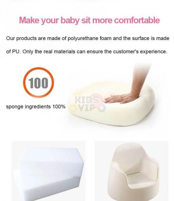 kidsvip leatther sofa chair pu 4
