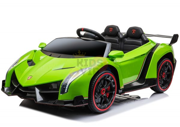 2 seats lamborghini ride on kids and toddlers ride on car 12v GREEN 1