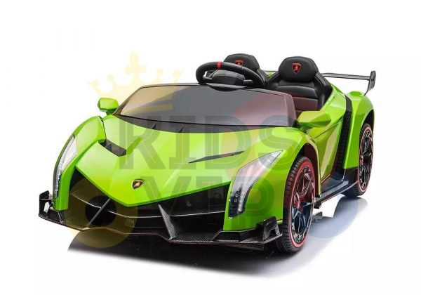 2 seats lamborghini ride on kids and toddlers ride on car 12v GREEN 12