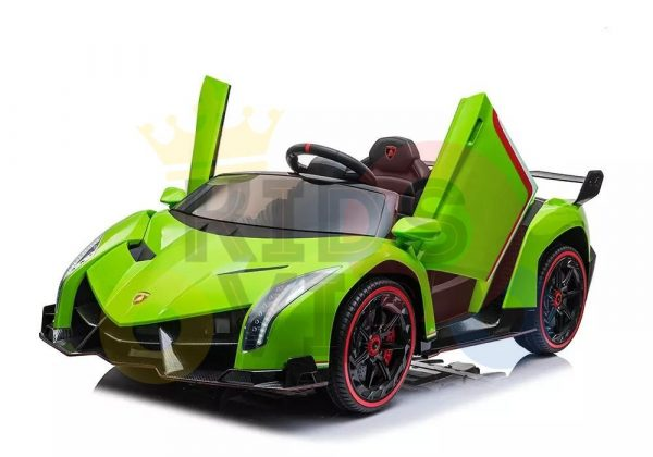 2 seats lamborghini ride on kids and toddlers ride on car 12v GREEN 13
