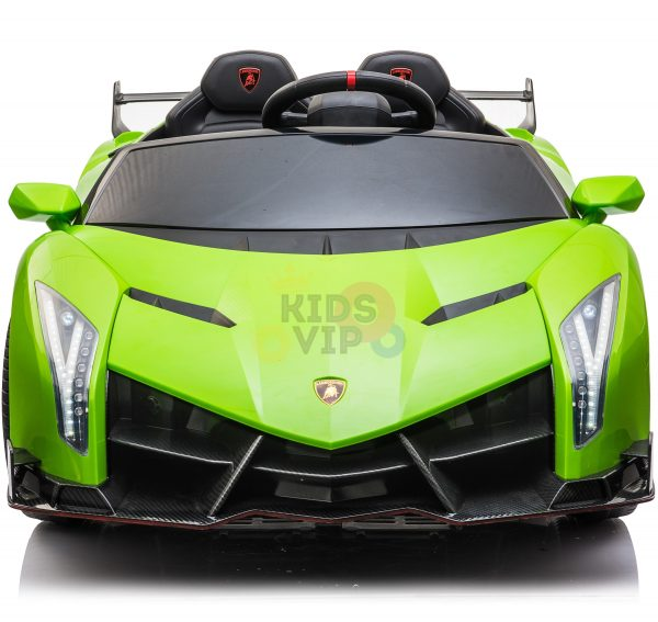 2 seats lamborghini ride on kids and toddlers ride on car 12v GREEN 18