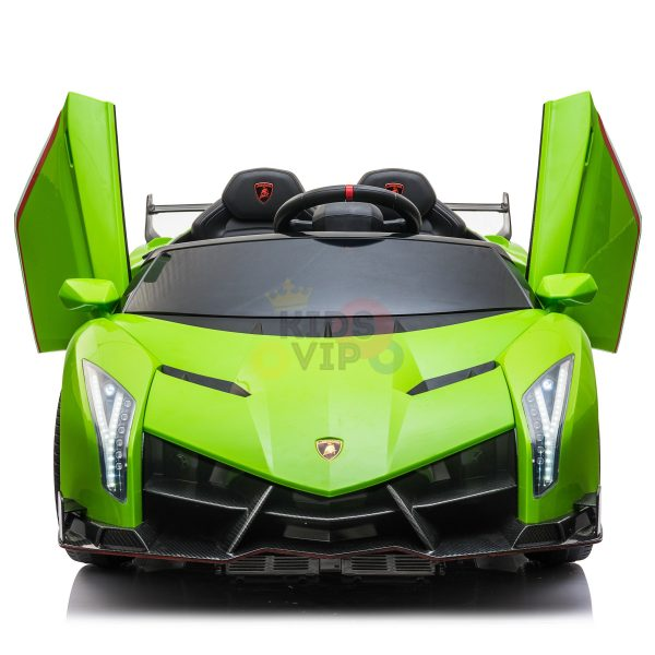 2 seats lamborghini ride on kids and toddlers ride on car 12v GREEN 6