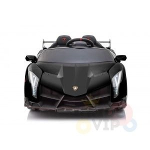 2 seats lamborghini ride on kids and toddlers ride on car 12v black 3
