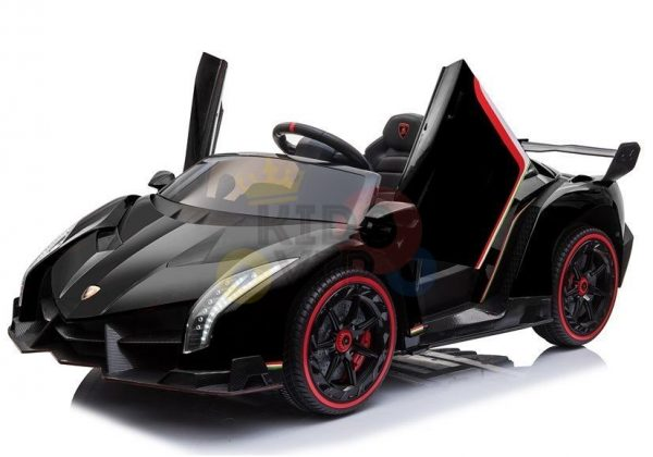 2 seats lamborghini ride on kids and toddlers ride on car 12v black 53